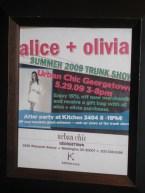 Alice + Olivia Trunk Show