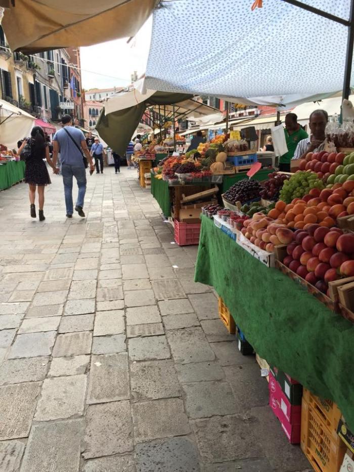 Venice, Italy, Europe, Farmer's Market, Travel
