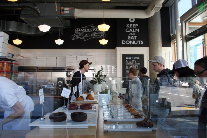 Donuts, Doughnuts, Portland, Oregon, Travel, Desserts, Blue Star Donuts