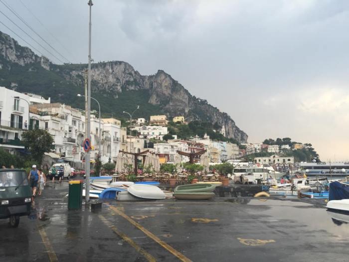 Capri, Italy, Marina, Grande, Marina Grande, Amalfi Coast, boats, docks.