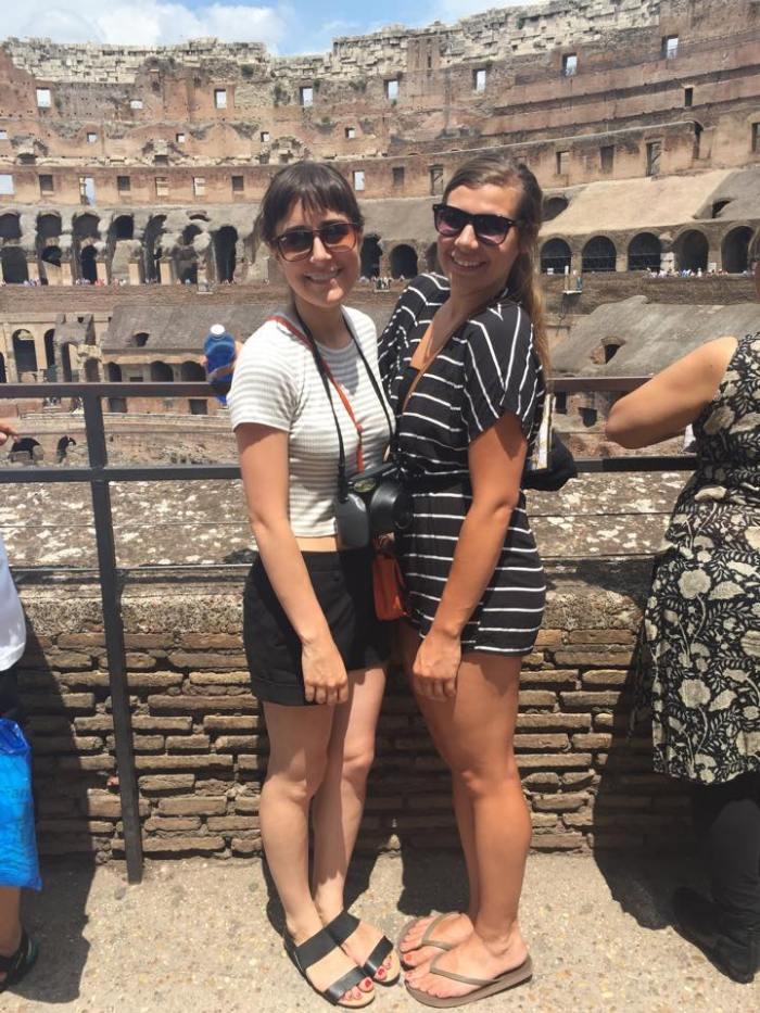 Rome, Italy, Europe, Travel, dame traveler, wanderlust, friends, world, history, colosseum, roman history