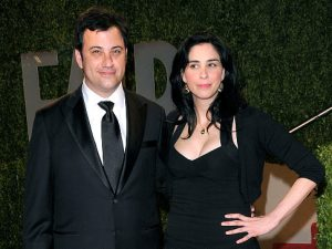 Jimmy Kimmel and Sarah Silverman are Awkward Exes