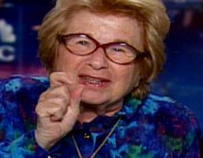 Dr. Ruth Knows About Masturbation. Do you know the value of masturbation?