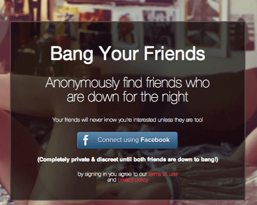 Making Your Friendships Weird and Banging Your Friends Just Got Easier!