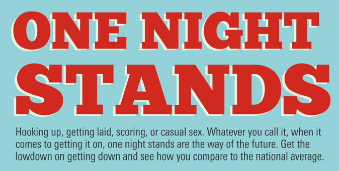 An Infograph About One Night Stands