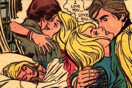 Comic Book Trash Romance