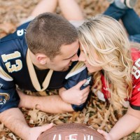 Football Wedding – Save The Date