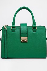 ASOS green bag