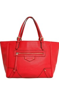 Mango red tote