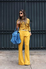 monochromatic look yellow