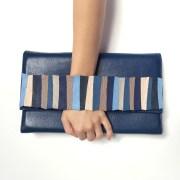 geanta albastra piele mydreambag sashaccessories