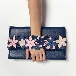 geanta piele albastra mydreambag sashaccessories accesoriu detasabil roseblue AGS010