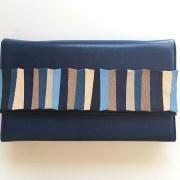 geanta piele albastru mydreambag accesoriu detasabil albastru sashaccessories