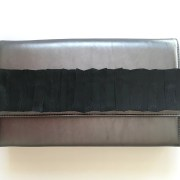 geanta piele argintie mydreambag accesoriu detasabil negrusashaccessories