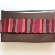 geanta piele bronz mydreambag accesoriu detasabil dark rose sashaccessories