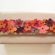 geanta piele nude mydreambag accesoriu flori rose AGS008 sashaccessories