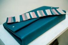 geanta piele verde my dream bag sashaccessories