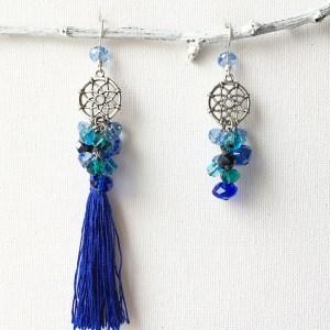 cercei 2 in 1 blue sashaccessories