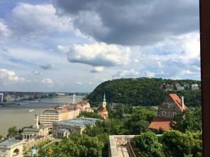 vedere de la Castelul Buda
