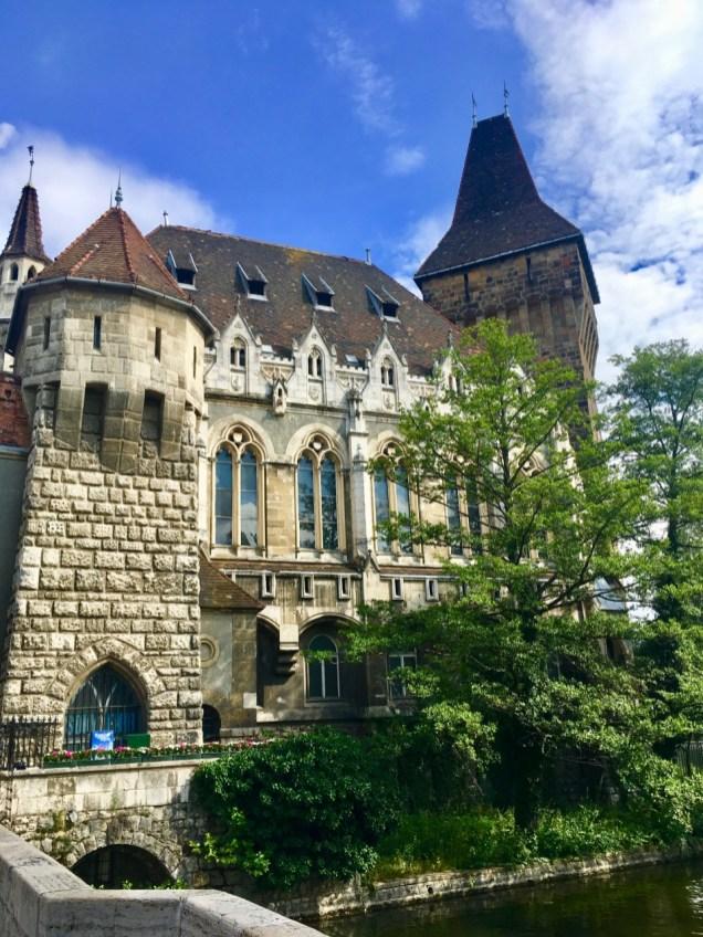 Vajdahunyad Castle theurbandiva family vacation