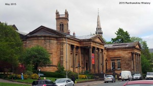 Paisley Museum, Art Gallery & Museum complex May 2015