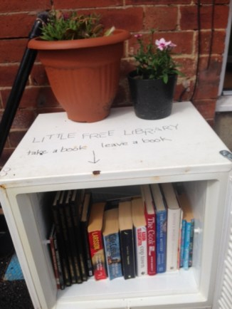 the summer of the free little library