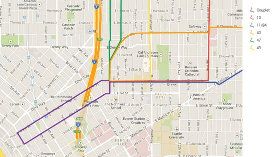 Pike/Pine Bus Routes