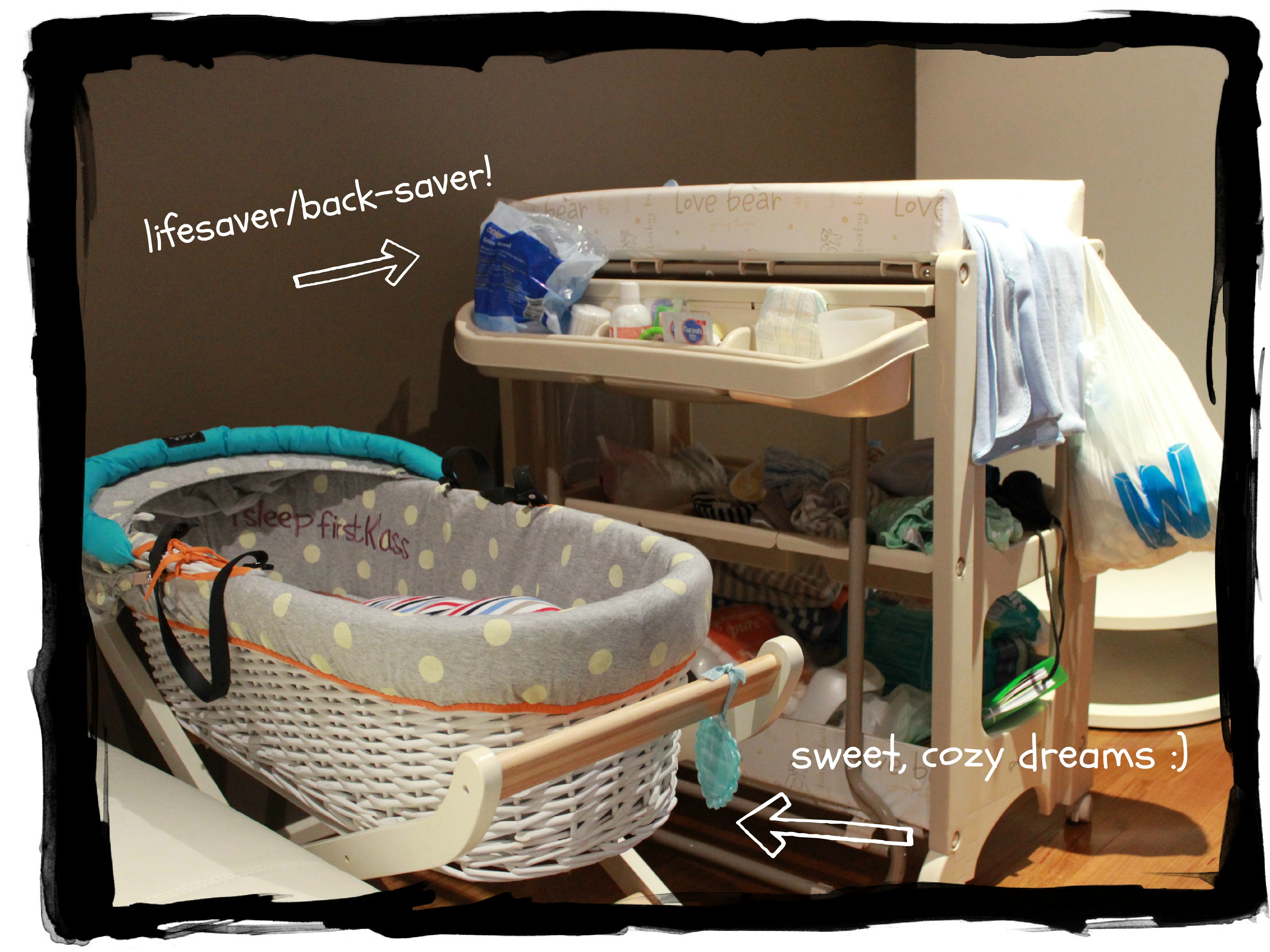 ... Baby Time 2) Baby K Moses Basket From Mothercare 5) Canon 600D DSLR 7)  What To Expect When Youu0027re Expecting U2013 Borrowed From A Friend, Save Our  Sleep By ...