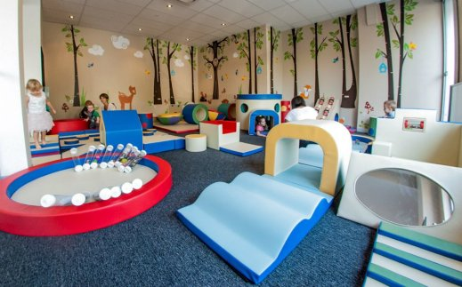 cheeky cinos play area