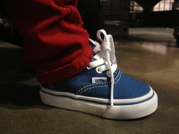 The Urban Ma's Baby D and Vans
