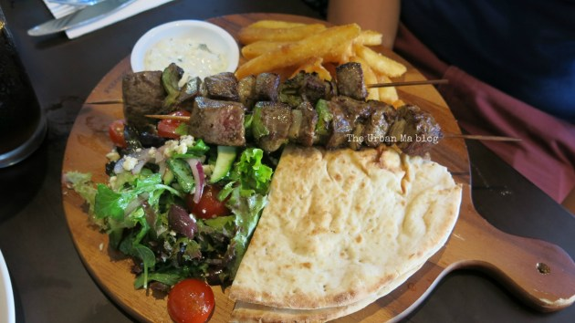 Rustique open souvlaki The Urban Ma