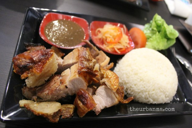 GJ's Grill lechon The Urban Ma