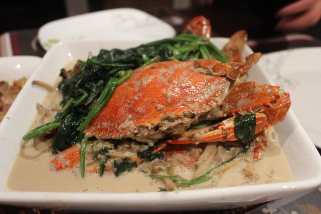 Crab in coconut milk recipe