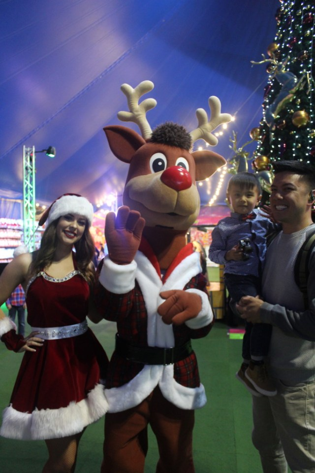 The Urban Ma at Santa's Magical Kingdom 2015