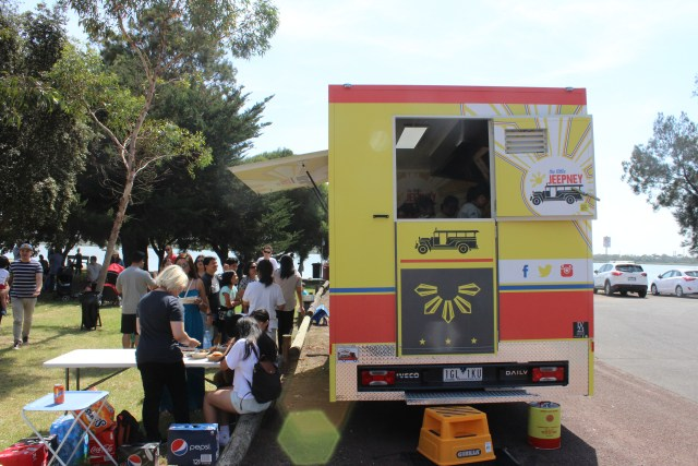 The Little Jeepney Melbourne Filipino food truck