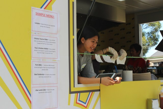 Pinoy food truck menu Melbourne