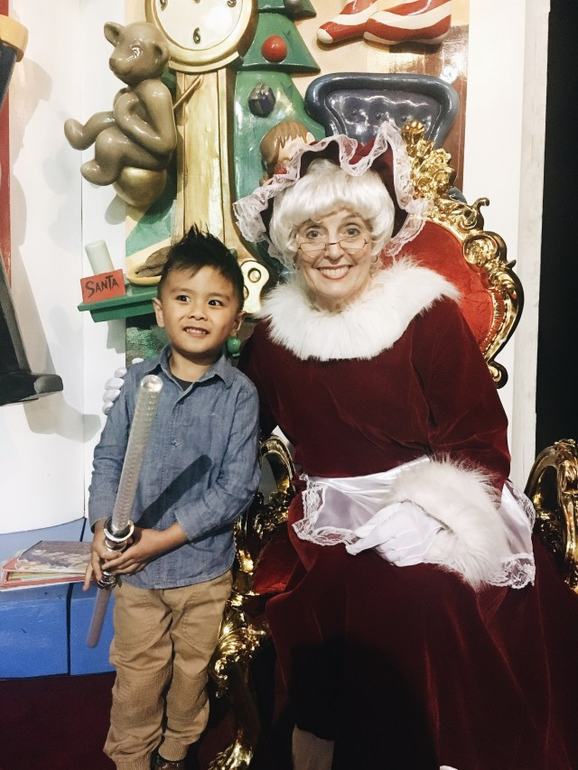 Daniel at Santa's Magical Kingdom