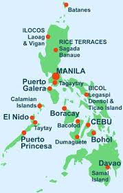 philippine trails travel guide map blog