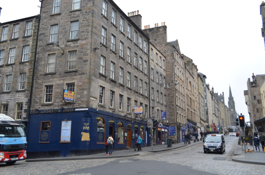 Edinburgh, Royal Mile, World's End