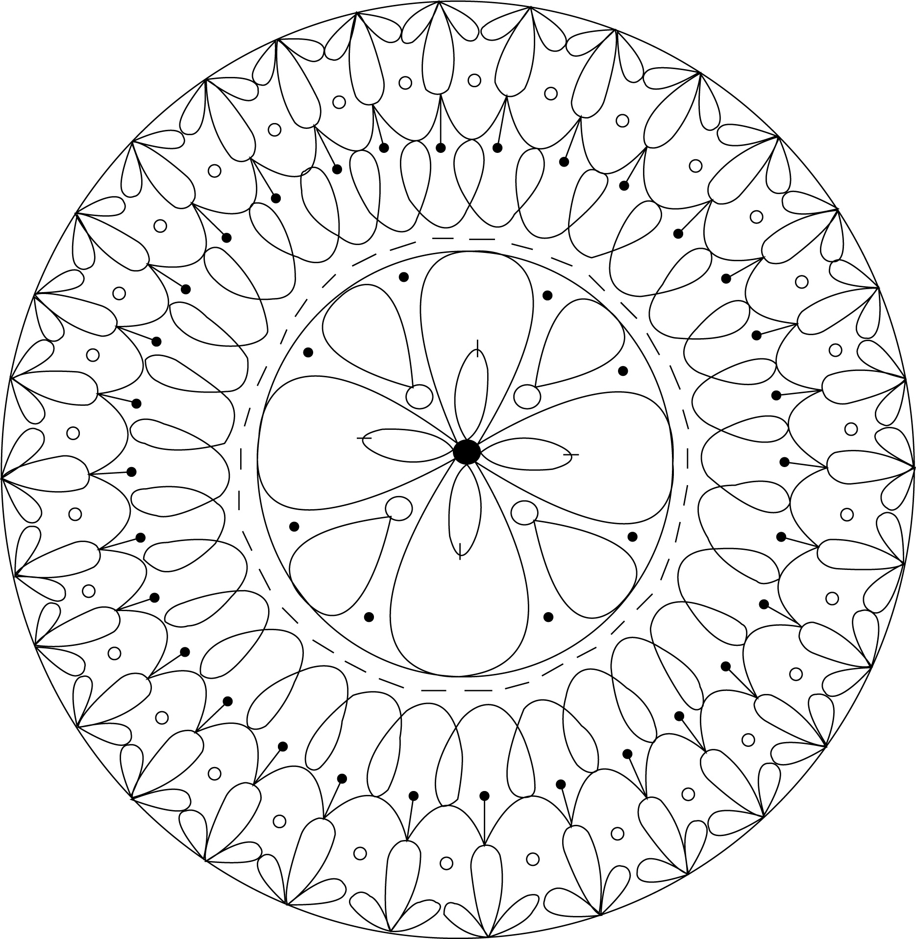 Free Doily Embroidery Pattern