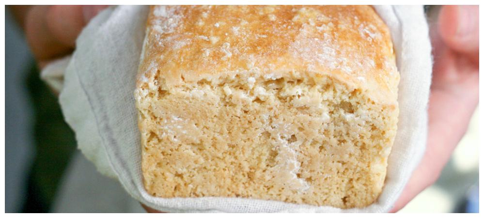 "Grain Free Cashew ""Sourdough"" Bread"