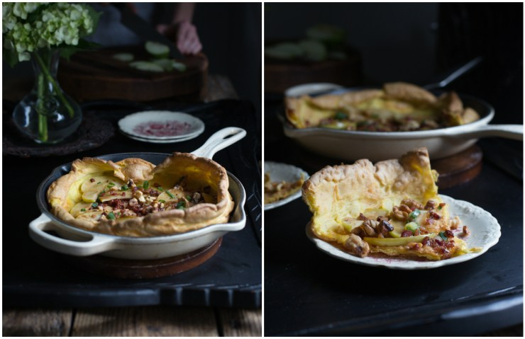 Grain Free Dutch Pancake collage 1