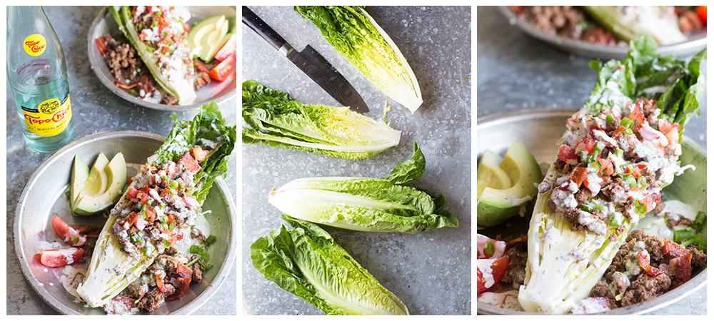 Paleo Southwestern Taco Salad Wedge