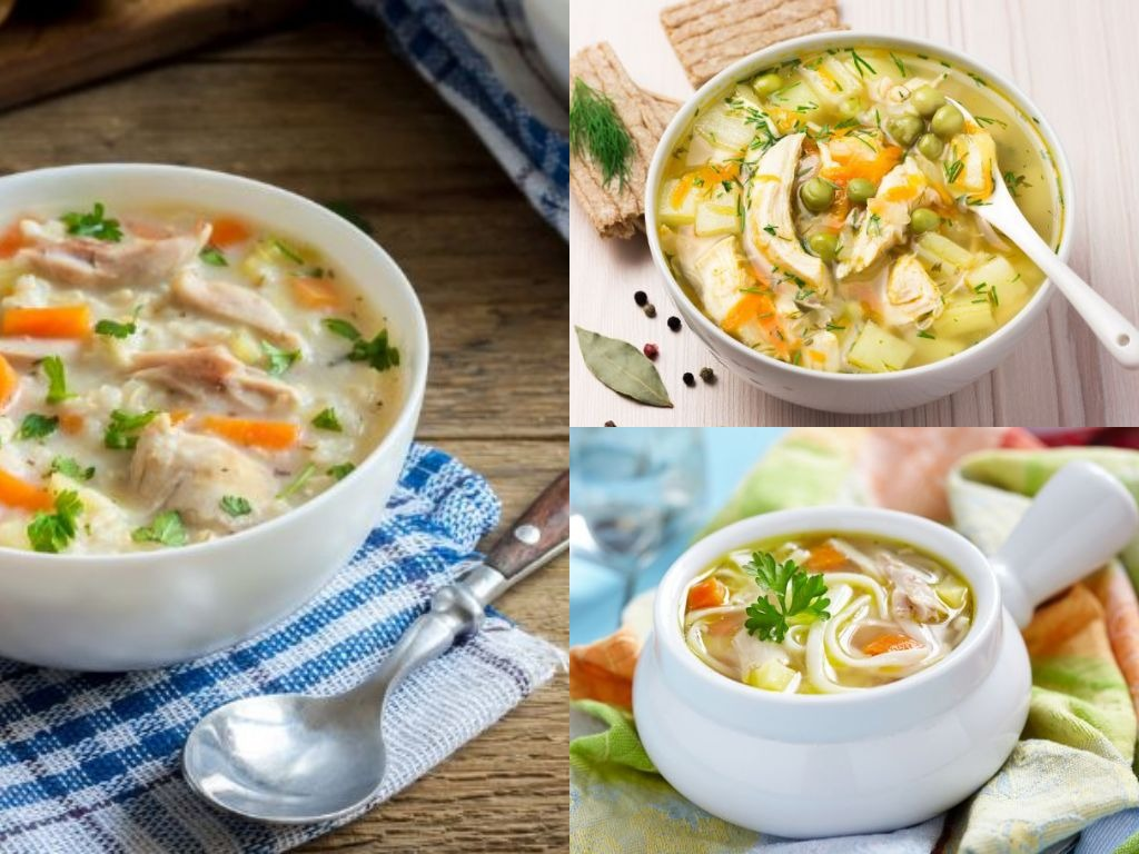Born Footry These 9 Types Of Soup With Chicken