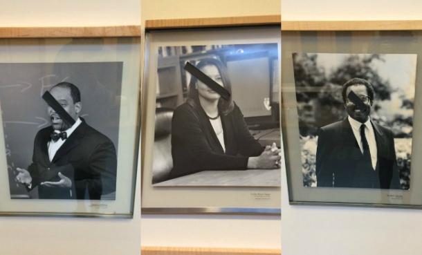 Photos of Black Faculty Debased At Harvard Law