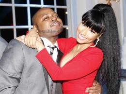Nicki and her bro Jelani