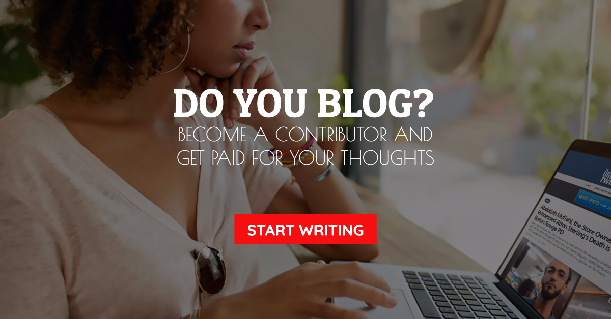 Get Paid to Write and Blog for The Urban Twist!