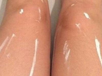 Shiny Legs Optical Illusion