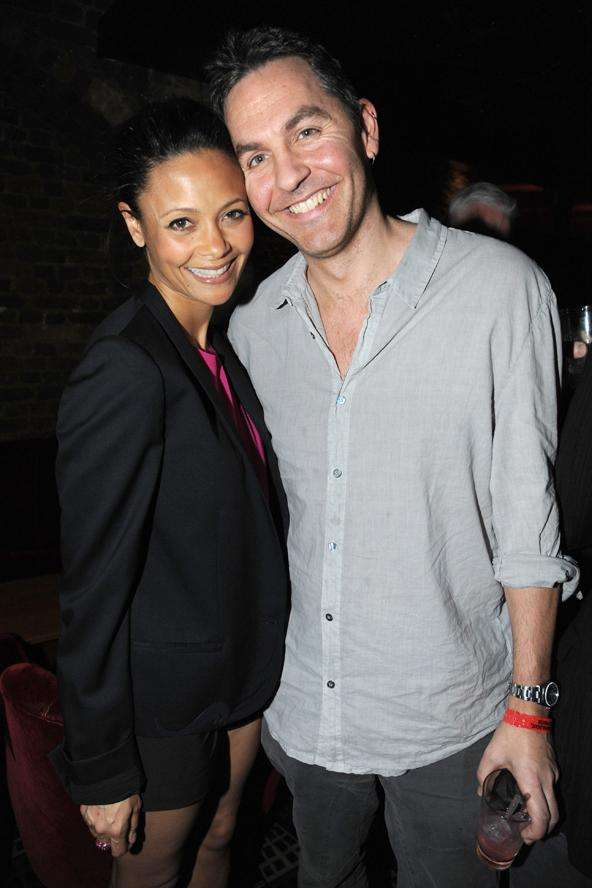Actress Thandie Newton married English filmmaker and writer 'Ol' Parker in 1998. The couple has three children.