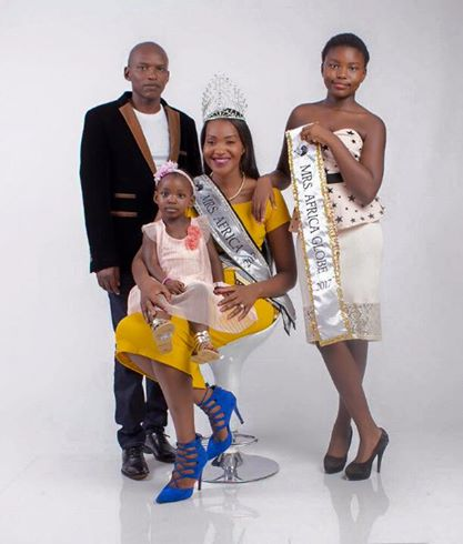 2017 Mrs Africa and Family